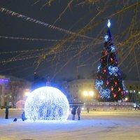 На главной городской площади :: Татьяна Гусева