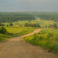 дорога на сплав по реке Чусовой Пермский край :: Сергей Компаниец