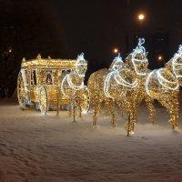 Мчатся, торопятся пожелать всем друзьям добра в наступающем году! :: tatiana