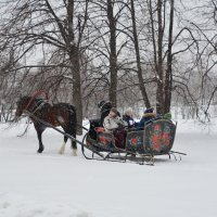 Зима в Коломенском. Москва. :: Oleg4618 Шутченко