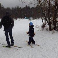 Детские дела зимой :: Андрей Лукьянов