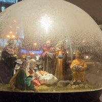 Рождественский вертеп у Казанского собора :: Виктор Орехов