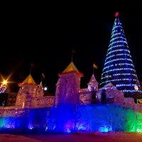 Ледяная крепость, красная звезда.... :: Михаил Полыгалов