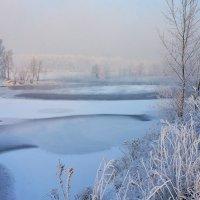 Зимним днем на берегу Енисея :: Екатерина Торганская