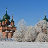 Морозное утро в Ярославле :: Татьяна Каневская