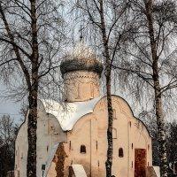 Церковь Власия, епископа Севастийского, на Волосове улице 1407 год. :: Николай Кондаков