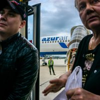 из самолета :: Галина Щербакова