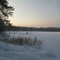 Рыбаки на озере :: Антон Завьялов