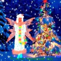 Рождественский лес :: Самохвалова Зинаида