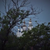 вид на храм с исторического места :: Данил Матвеев
