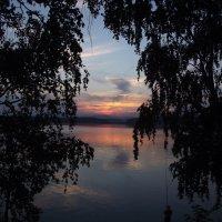 Закат на озере Чебаркуль :: Данил Матвеев