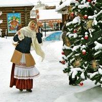 А вот и первая рождественская встреча! :: Vladimir Semenchukov
