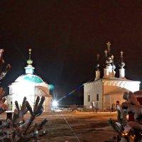 Рождественская ночь в Суздале :: Mavr -