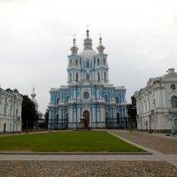 Смольный собор в Петербурге :: Надежда