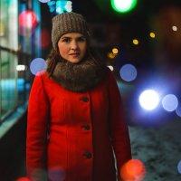 Ночь, свет от витрины. :: Алексей Власов