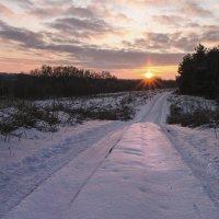 Зимняя дорога... :: Сергей