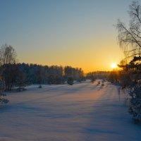 Зимний вечер. :: Валерий Медведев