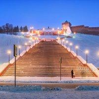 Чкаловская лестница :: Юлия Батурина
