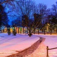 Вечер после Рождества... :: Леонид Соболев