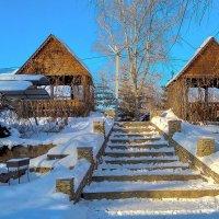 Ступеньки в зиму. :: Elena Izotova