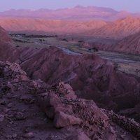 реальные цвета после заката в Долине Смерти :: Георгий А