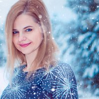 в зимнем лесу :: Дмитрий М