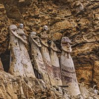 "саркофаги ""древних мудрецов"". Карахия. Перу :: Svetlana Galvez"