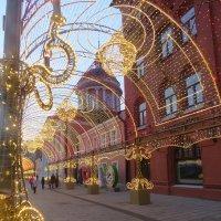 новогодние арки Москвы :: ИРЭН@ .