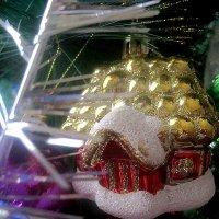 Сказочный домик пусть счастья принесет в Старый Новый год! :: Елена Семигина