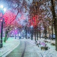 Москва Новогодняя и Рождественская :: Игорь Герман