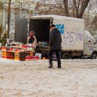 Зимняя тороговля. :: Артемий Кошелев
