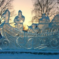 Богатыри на закате... :: Нэля Лысенко