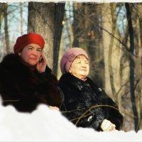 Зима в Царицынском парке :: Евгений Кочуров