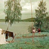Туристы на озере Таватуй :: alek48s