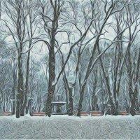 Снежит :: Лара Амелина