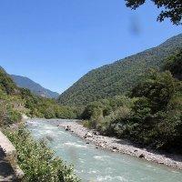Горная река Бзыт. Абхазия. :: Валюша Черкасова
