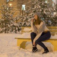 Зимний портрет девушки :: Дмитрий Балагуров