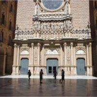 Фасад базилики, 1900г :: ZNatasha -