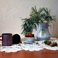 Клубника среди зимы :: Лидия Суюрова