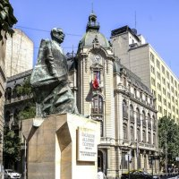 скульптура Сальвадора Альенде :: Георгий А