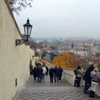 Осень в Пражском граде :: Ольга