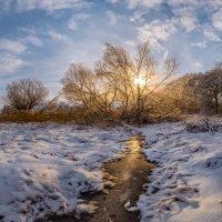 Зимний ручей :: Фёдор. Лашков
