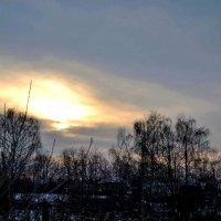 Вечер в январе. :: Михаил Столяров