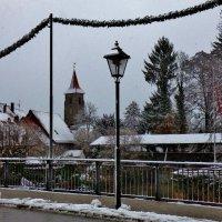 Снег  в Лауфе :: backareva.irina Бакарева