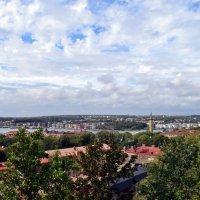 Панорама Гетерборга со смотровой плошадки возле Церкви Мастхуггет :: Татьяна Ларионова