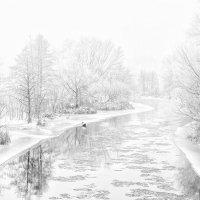 Шуга на реке :: Yuri Silin