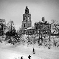 Сооружение и обустройство Крещенской проруби :: Николай Белавин