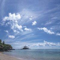 Panorama beautiful view of Seychelles :: Дмитрий Лаудин