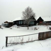 Деревенская зима :: Нэля Лысенко