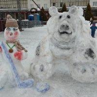 На Празднике снега :: Галина Бобкина